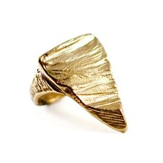 Slice Of Sand Ring, $116, now featured on Fab.