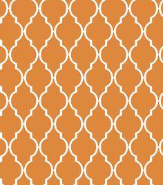 Fabric Central Quatre Orange