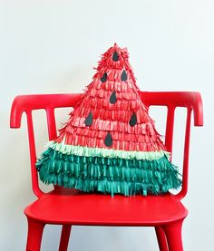 Cinco de Mayo Watermelon Piñata - The Glue String