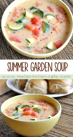 Even on a warmer evening, this dreamy, healthful Summer Garden Vegetable Soup just hits the spot.