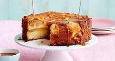 Gâteau aux pommes et au fromage blanc, Lire la recette du gâteau aux pommes et au fromage blanc