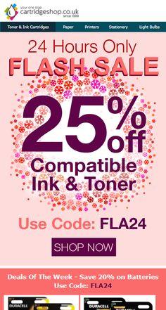 Cartridge Shop - Colourful Snowflake themed Flash Sale email design by Cartridge Shop, Toner Cartridge, Email Marketing Design, Email Design, Printer Ink Cartridges, Inkjet Printer, Cheap Printer Ink, Sale Emails, Ink Toner