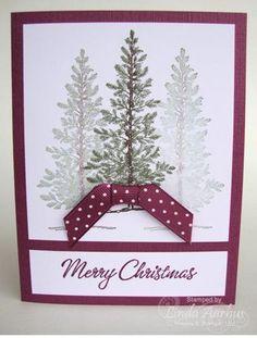 Lovely as a tree Christmas card!