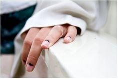 clean crescent nails