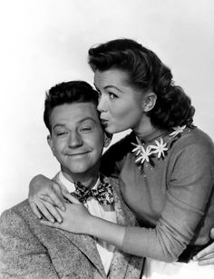 Debbie Reynolds has a crush on Donald O'Connor in I Love Melvin (1953)