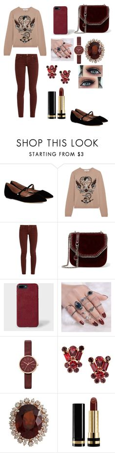 """""""Untitled #719"""" by martialartsqueen ❤ liked on Polyvore featuring Tabitha Simmons, Valentino, The Great, STELLA McCARTNEY, Paul Smith, Skagen and Gucci"""