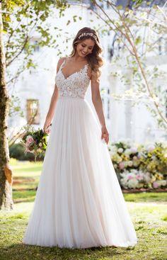 Style 6555, Stella York  #wedding #dresses