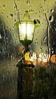 Beautiful rain , beautiful light