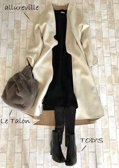 Moda Outfits Fashion Style Inspiration Ideas For 2019 Japan Fashion, Daily Fashion, Love Fashion, Winter Fashion, Womens Fashion, Fashion Design, Office Outfits, Chic Outfits, Winter Outfits