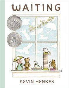 Waiting (Ala Notable Children's Books. Younger Readers (Awards)) by Kevin Henkes http://www.amazon.com/dp/0062368435/ref=cm_sw_r_pi_dp_qOLSwb0PAV4V8