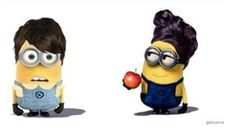 Once Upon a Time minions!!!
