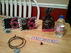 Girly Girl Birthday Party Favors