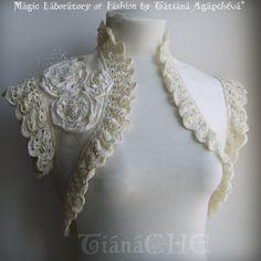 Adolescence Handmade Shrug by TianaChe.deviantart.com on @deviantART
