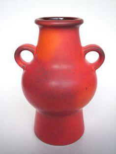 Keramik Vase Dümler Breiden 302/17 Fat Lava era pottery West-Germany vintage Top