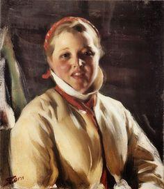 Anders Leonard Zorn (Swedish painter, 1860-1920) - Kuver Maja