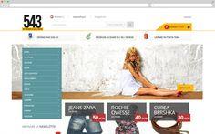 543.ro online clothing shop website