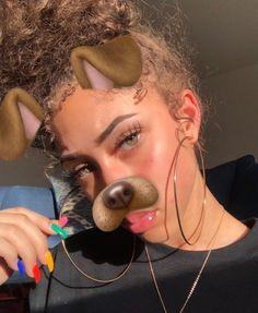 ριntєrєѕt: @destinyyy11♡ Natural Glow, Natural Skin, Beauty Skin, Hair Beauty, Curly Hair Styles, Natural Hair Styles, African American Beauty, Pretty Hurts, Mixed Girls