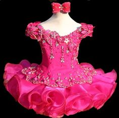 this website has patterns for pageant dresses and a how to dvd