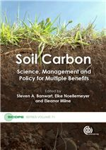 This book contains 31 chapters, grouped into 7 parts, which provides a link between the complexity of the scientific knowledge on soil carbon, and how this knowledge can be applied for multiple benefits, and the complexity of the policy and practice arenas where soil and land management impact many sectors: environment, farming, energy, water, economic development and urban planning..