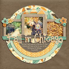 love the color scheme....  A Project by Nettio from our Scrapbooking Gallery originally submitted 11/01/11 at 04:58 PM
