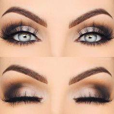 WEBSTA @ monapetre - Eyeball closeup  I used the @thebalm_cosmetics #NUDEtude palette Eyebrows @benefitcosmetics #KaBrow Creme Gel Lashes @nubounsom Bombay (use code monapetre for $$ off)  brushes used @motd_cosmetics  #monapetre #benefit #benefitbrows #benefitcosmetics #thebalmcosmetics #motdcosmetics