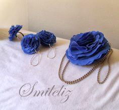 Azul y Plata Crochet Necklace, Jewelry, Fashion, Silver, Blue Nails, Blue Prints, Moda, Jewlery, Crochet Collar