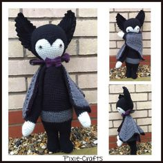 Pixie-Crafts • And another completed order…A large Vlad Vampire...