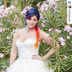 Another one of @neonwonderlandshop because I needed to see more of that hair, which is styled by @hairbymegankling. Repost from @kmhphoto