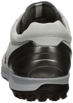 ec13b5d24fd6 ECCO Mens Biom Hybrid 2 Hydromax Golf Shoe White Black 47 Medium EU 1313.5  US