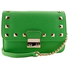 Amy Studded Mini Crossbody ❤ liked on Polyvore featuring bags, handbags, shoulder bags, cross-body handbag, shoulder strap handbags, studded crossbody purse, studded crossbody and crossbody purses