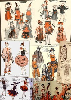halloween_ref_sm.jpg gay costumes are half the fun Retro Halloween, Halloween Images, Spooky Halloween, Halloween Costumes, Halloween Halloween, Halloween Makeup, Masquerade Costumes, Vintage Witch, Vintage Circus
