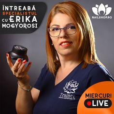 ℹ️🎥ℹ️ Miercuri în jurul orei 10, ne vedem cu Mogyorosi Erika, în cadrul emisiunii live 👉 Întreabă Specialistul, pe pagina noastră de Facebook! Facebook, Live, News