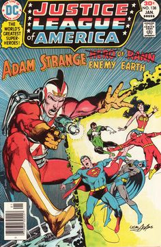 Justice League of America #138 (1960 series) - cover by Neal Adams
