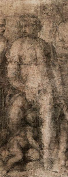 Michelangelo Buonarroti   Epifania, 1550-53   Detail