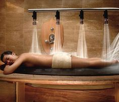 Beauty Equipment Wooden Shower Bed Hydrotherapy Spa Equipment - Buy Spa…