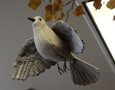 Cloth Bird @ Fairbanks Library, via Flickr.