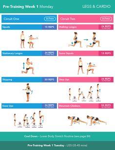 Pre bbg workout