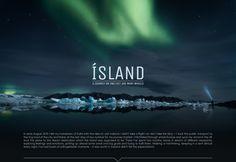 """Auf @Behance habe ich dieses Projekt gefunden: """"ICELAND"""" https://www.behance.net/gallery/42395543/ICELAND"""