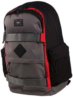 13ce341b7c Vans Off The Wall Jetter Carry All Skate Backpack-Pewter Black Red