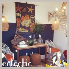 Front Window of Eclectic in Charleston, South Carolina