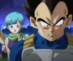 Bulma and Vegeta<- I've always wanted to see a movie showing their Romance. We get pieces of it here and there but I so want to see it play out. Naturally it would be detailing Vegeta but still.