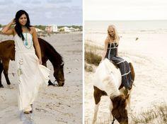 beachy horse fashion