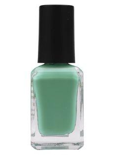 Barry M, Mint Green. Mint Choc Chip in a nail polish...yum!