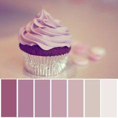 purple & silver palettes