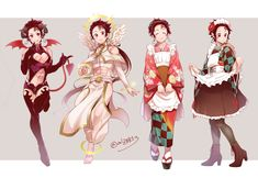Twitter Demon Slayer, Slayer Anime, Anime Angel, Anime Demon, Naruto Clans, Cute Couple Art, Bunny Outfit, Demon Hunter, Cute Girl Photo
