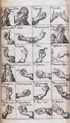 BULWER, John (1606-1656). Chirologia: or the Naturall Language of the Hand.  http://archive.org/details/gu_chirologianat00gent   http://www.christies.com/lotfinder/books-manuscripts/bulwer-john-chirologia-or-the-naturall-5388538-details.aspx
