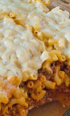 Mac And Cheese Lasagna...
