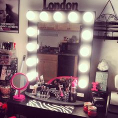 Follow me on Instagram for more pictures of my makup vanity @FashionablyDesired
