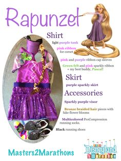 Rapunzel: DIY Tangled Running costume http://wp.me/p2wL1Y-1Ky