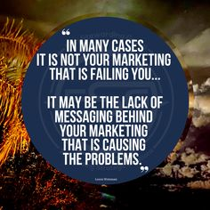 A thought to consider regarding marketing issues. It might not be you... It might not be your marketing or PR... It might be your messaging. Messaging before marketing. #messagingmatters #messaging Fails, Messages, Marketing, Thoughts, Quotes, Quotations, Make Mistakes, Text Posts